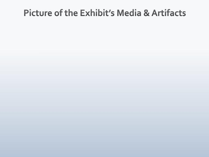 Picture of the Exhibit's Media