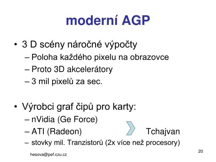 moderní AGP