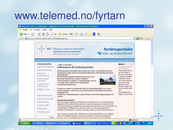 www.telemed.no/fyrtarn