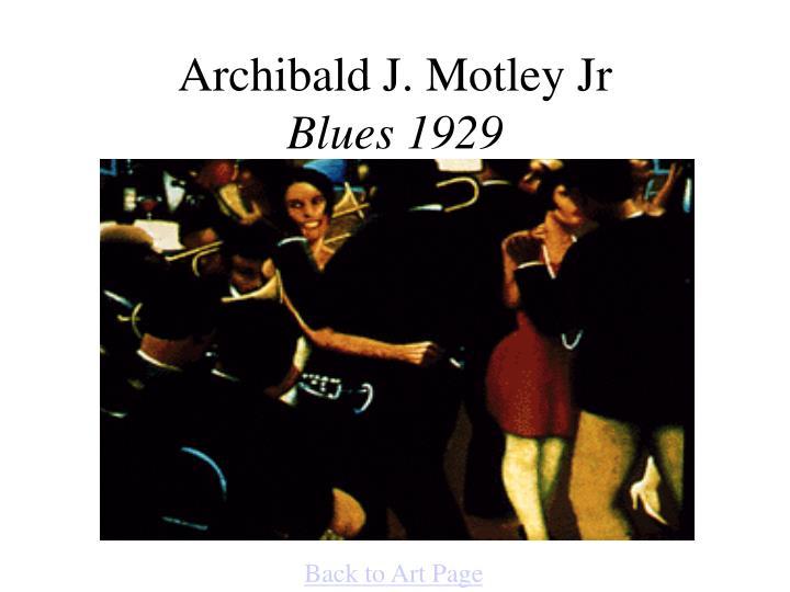 Archibald J. Motley Jr
