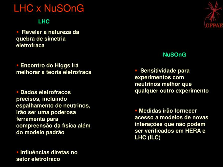 LHC x NuSOnG