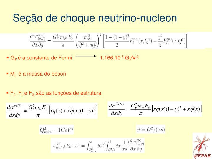 Seção de choque neutrino-nucleon