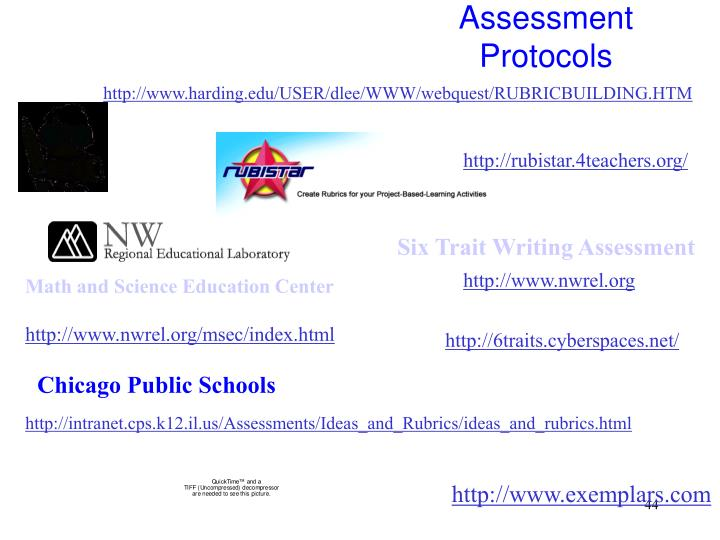 Assessment Protocols