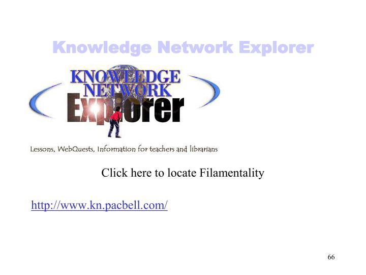 Knowledge Network Explorer