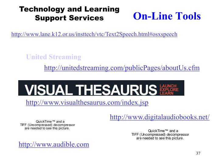 Technology and Learning Support Services