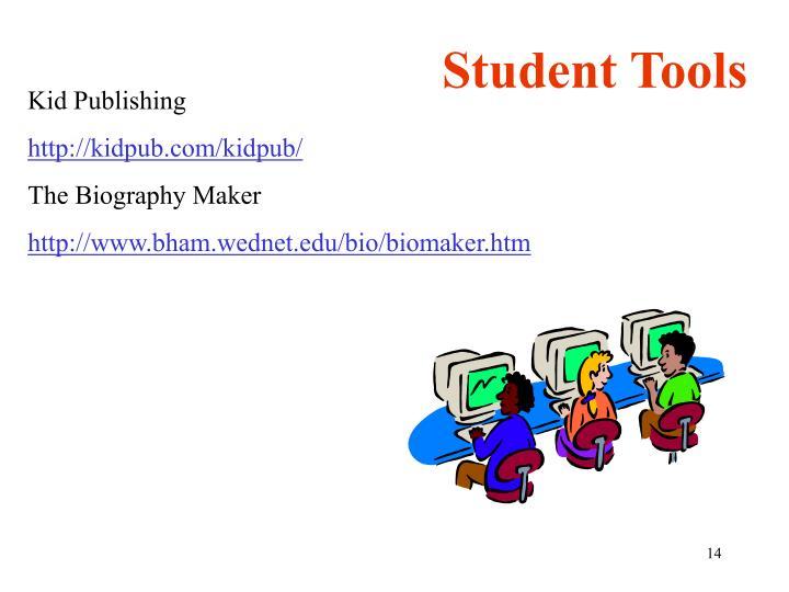 Student Tools