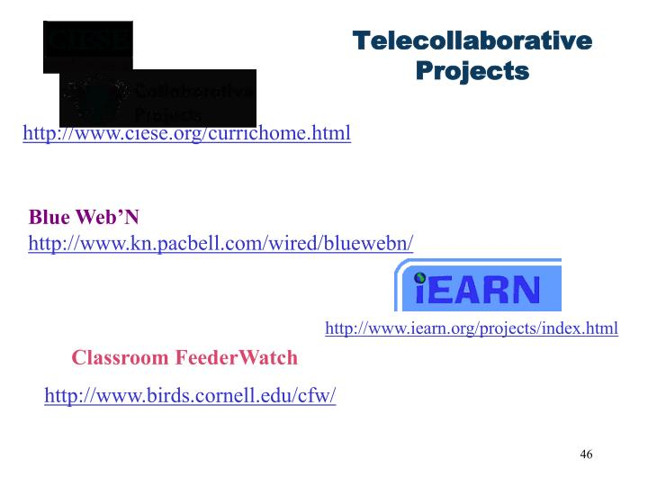 Telecollaborative Projects
