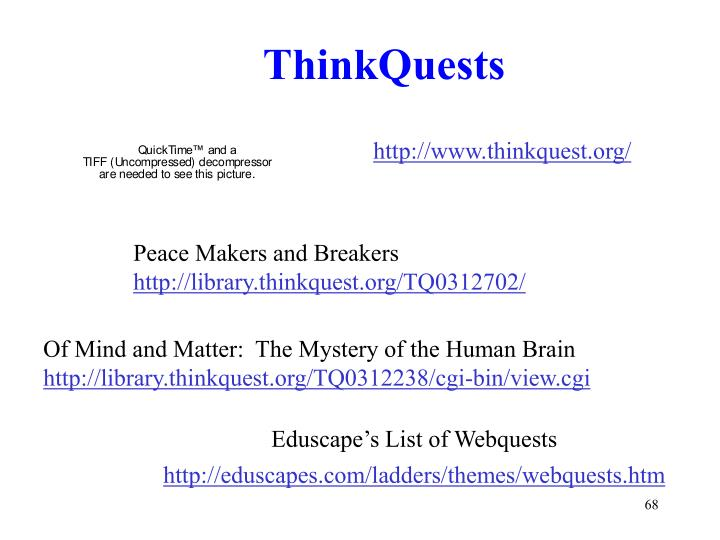 ThinkQuests