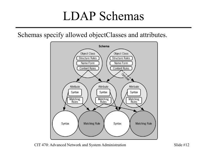 LDAP Schemas