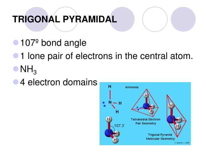 TRIGONAL PYRAMIDAL