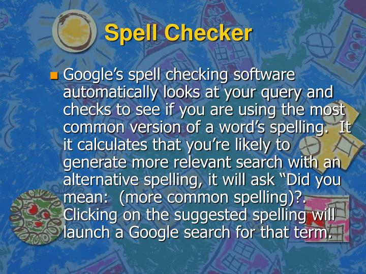 Spell Checker