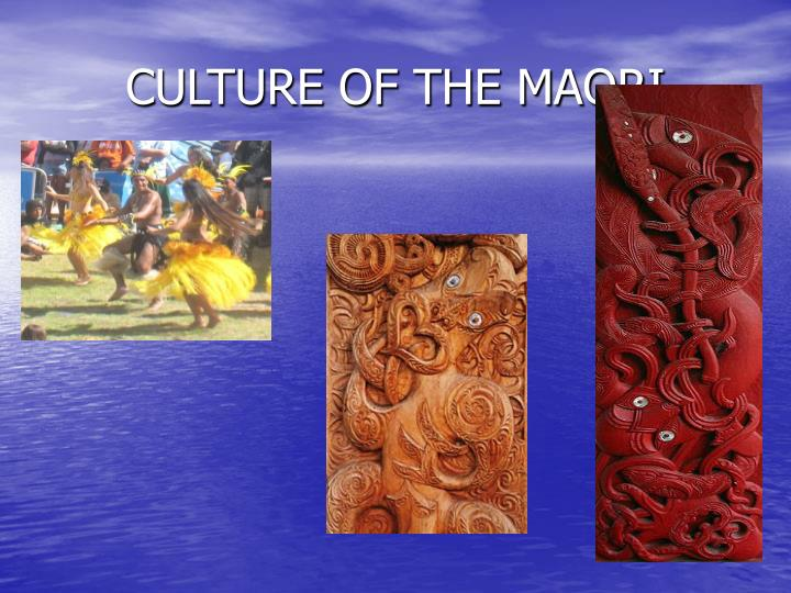 CULTURE OF THE