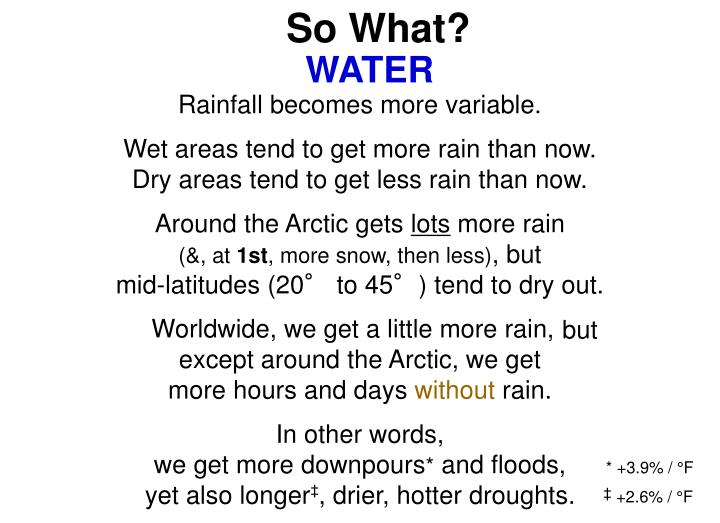Rain Becomes More Variable