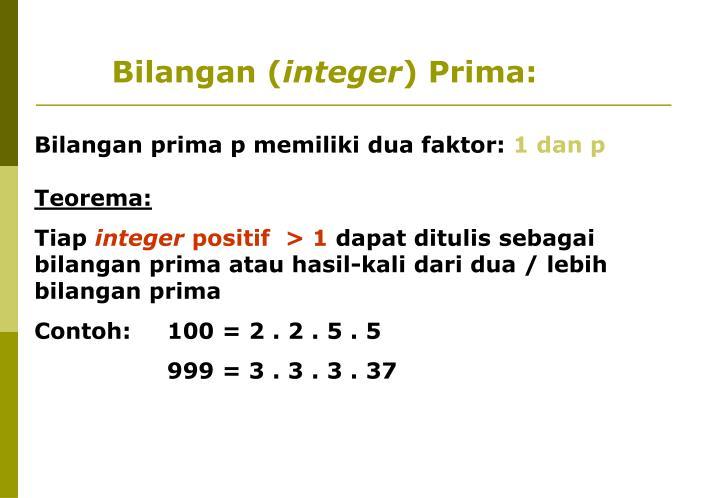 Bilangan (