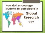 how do i encourage students to participate in