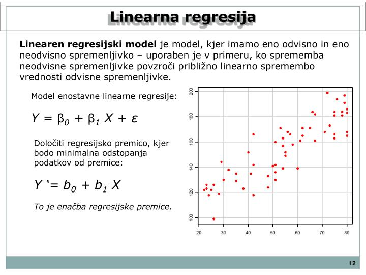 Linearna regresija