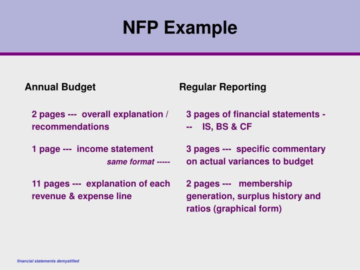 NFP Example