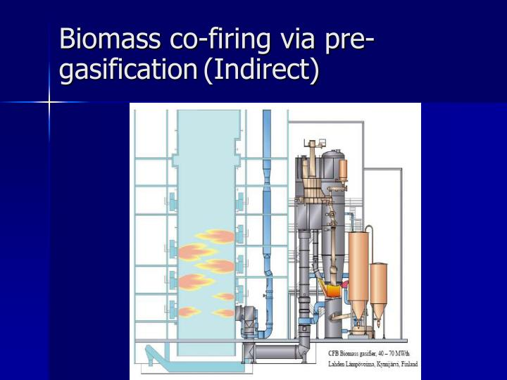 Ppt Co Firing Biomass With Coal For Power Generation