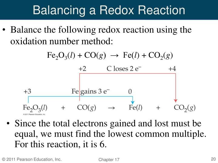 Balancing a Redox Reaction