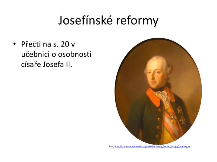 Josefínské reformy