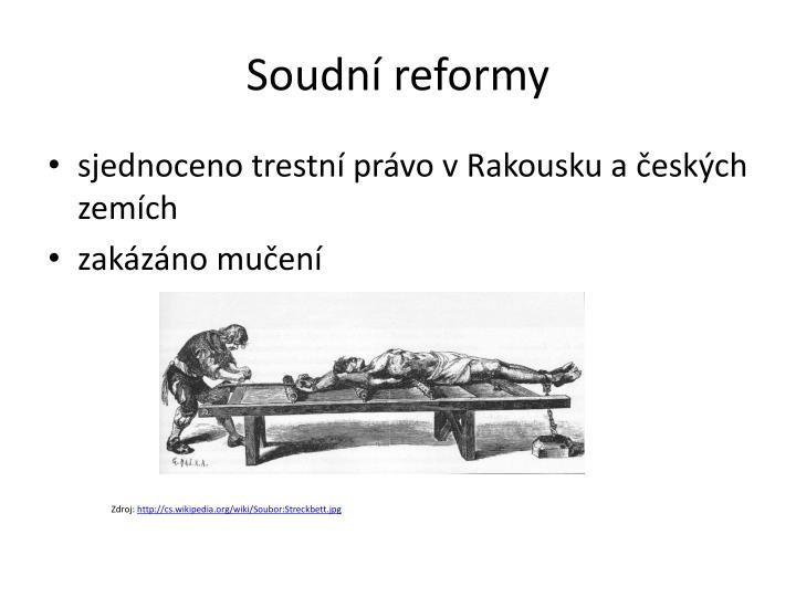 Soudní reformy