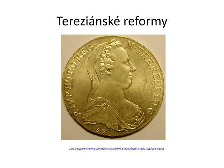 Tereziánské reformy