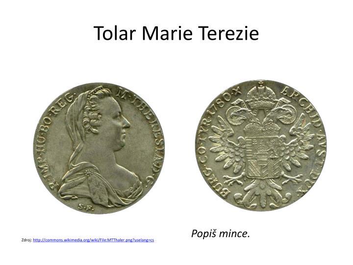 Tolar Marie Terezie