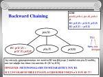 backward chaining7