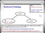backward chaining8