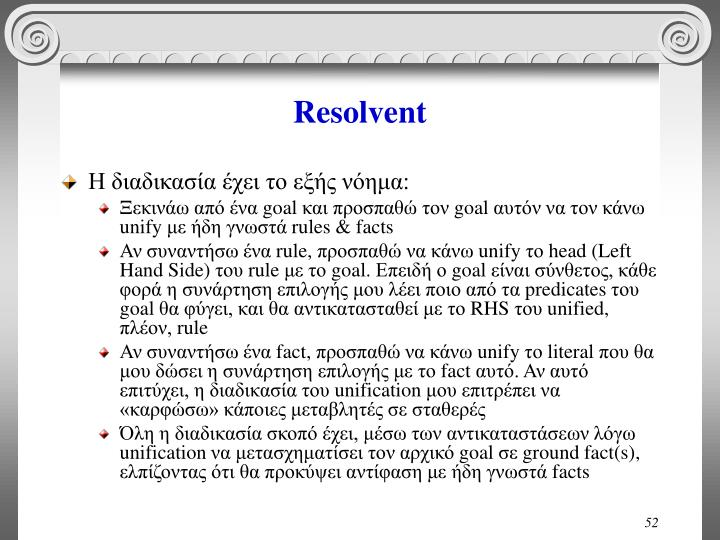 Resolvent