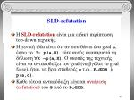 sld refutation