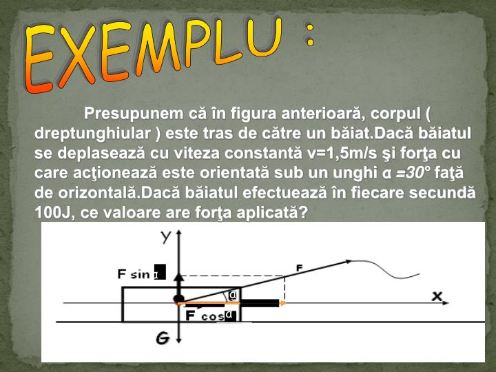 EXEMPLU :