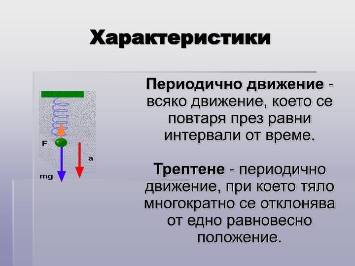 Характеристики