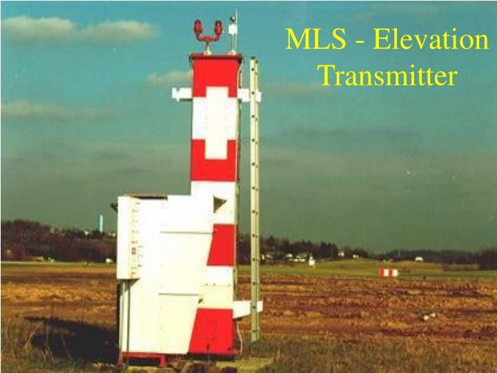 MLS - Elevation Transmitter