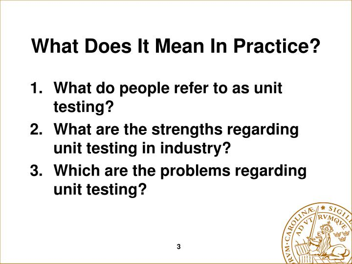 What does it mean in practice