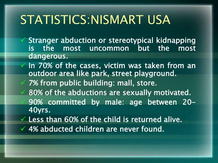STATISTICS:NISMART USA