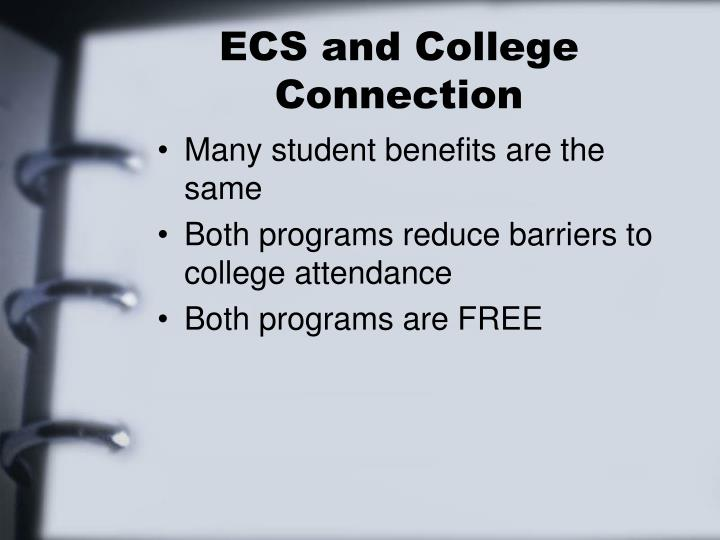 ECS and College Connection