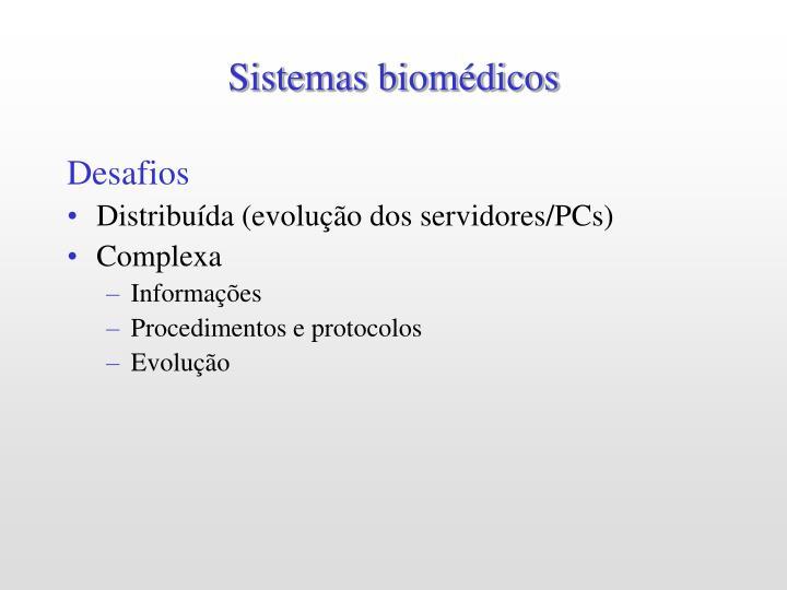 Sistemas biomédicos
