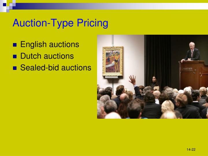 Auction-Type Pricing