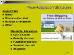 price adaptation strategies1