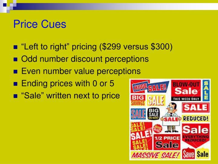 Price Cues