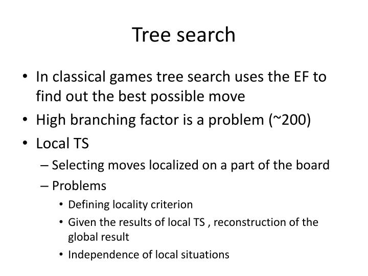Tree search