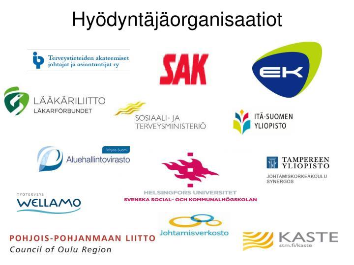 Hyödyntäjäorganisaatiot