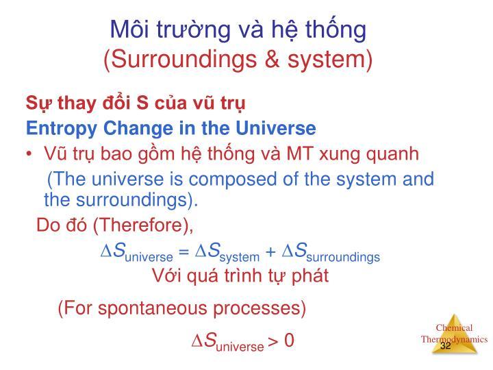 Môi trường và hệ thống