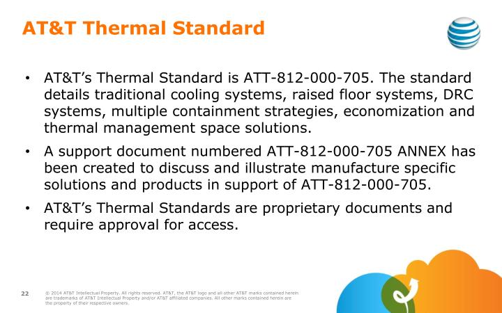 AT&T Thermal Standard