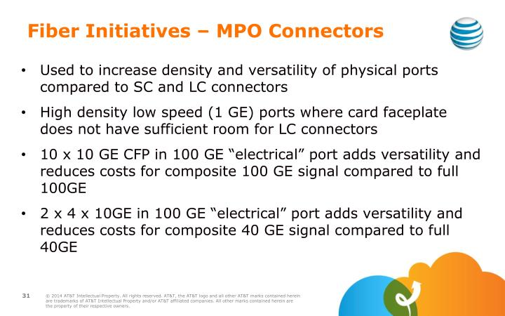 Fiber Initiatives – MPO Connectors