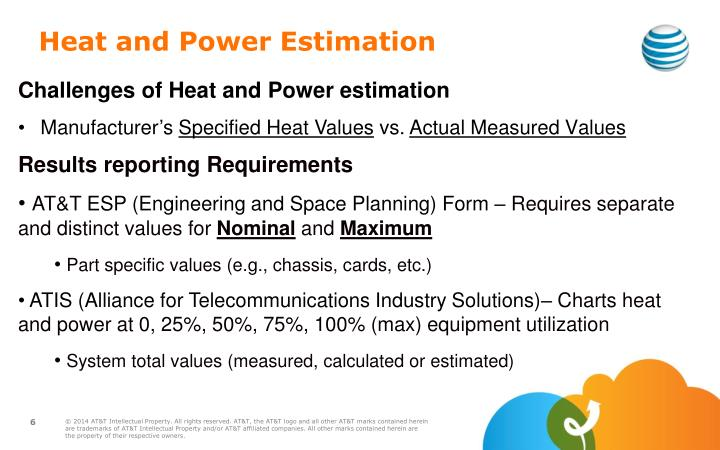 Heat and Power Estimation