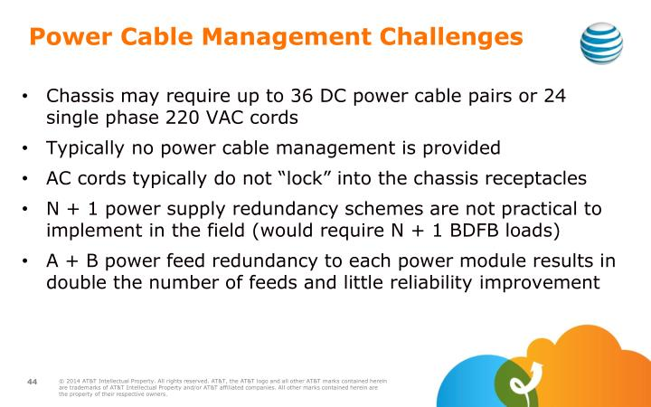 Power Cable Management Challenges