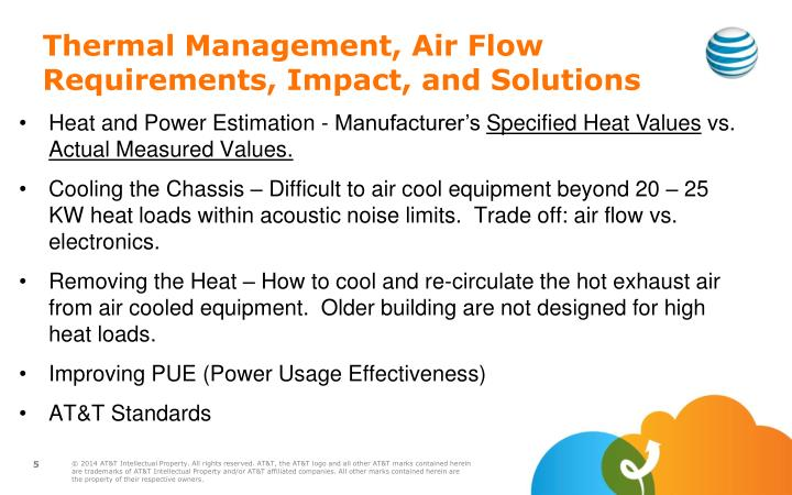Thermal Management, Air Flow Requirements, Impact, and Solutions