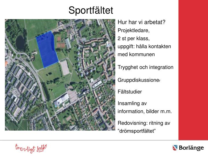 Sportfältet